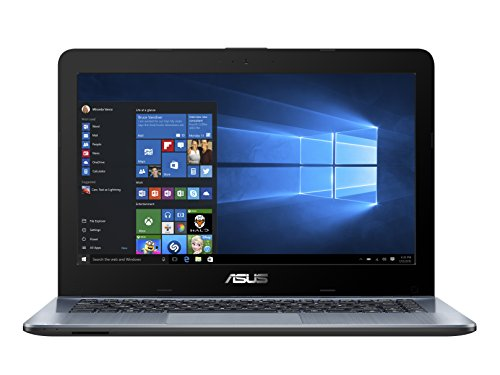 ASUS-X441SA-WX152T-VivoBook-14-inch-HD-Notebook-Silver-Intel-Dual-Core-Celeron-N3060-Processor-4-GB-RAM-1TB-Hard-Drive-Windows-10-Bluetooth-40-Webcam