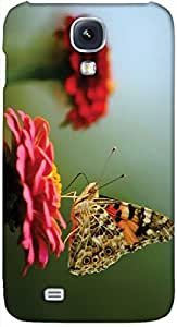 Timpax protective Armor Hard Bumper Back Case Cover. Multicolor printed on 3 Dimensional case with latest & finest graphic design art. Compatible with Samsung I9500 Galaxy S4 Design No : TDZ-25805