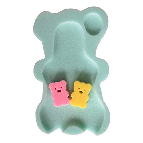 NAYUKY 9 Colores Esponja del baño del bebé Alfombrilla Antideslizante Mat Esponja Antideslizante bañera...