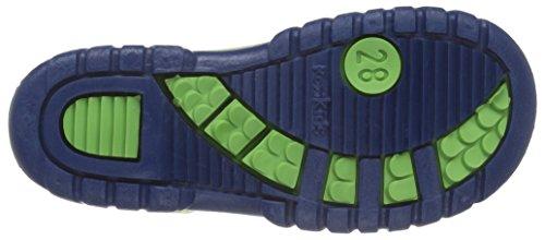 Romika Unisex-Kinder Slimmy Gummistiefel Grün (lime-blau 646)