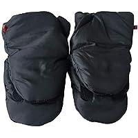 YeahiBaby Cochecito Hand Muff Extra Thick Silla de Mano Guantes de Mano Calentador de Manos para niños en Invierno cálido (Negro)