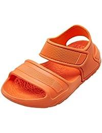 Huhua-Baby Sandal Sandals for Boys, Sandali Bambine Rosa Hot rosa, Rosa (Pink), 32 EU