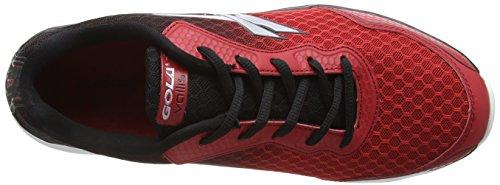 Gola Vallis, Scarpe da Uomo per Allenamento Rosso/Nero (Red/Black)