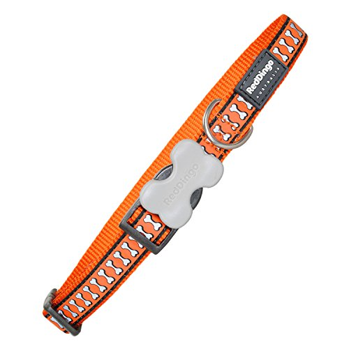 endes Hundehalsband, orange, Medium/Large/20mm ()