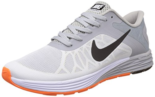 f09ebbd12da1b1 Nike 654916-101 Mens Lunarglide 6 White Running Shoes 9 Uk India 44- Price  in India