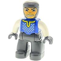 LEGO Bausteine & Bauzubehör Baukästen & Konstruktion 1 x Lego Duplo Tier Pferd Rüstung silber Schabracke rot 4864 4252563 51710pb02
