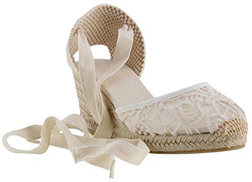 SimpleC Zapatos de Cuña de Tobillo con Tacón de Tobillo Clásico para Mujer, Sandalias de Alpargatas...