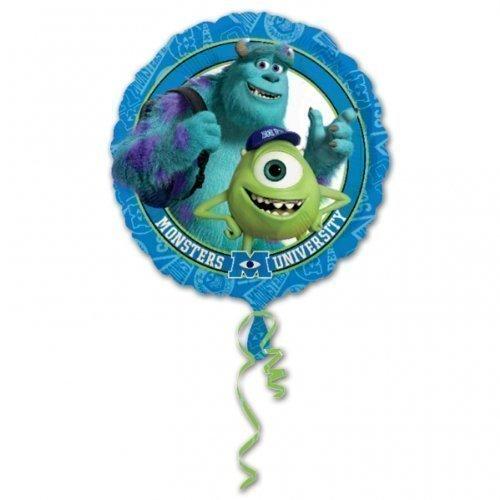 Monster Inc Monster University Party Folien Ballon 45cm Runder Ballo Kein Text (Monsters Inc Party)
