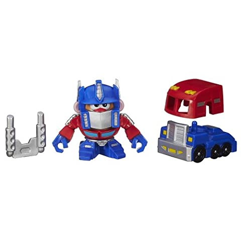 Playskool Mr. Potato Head Transformers Mixable Mashable Heroes as Optimus Prime, 2-Inch