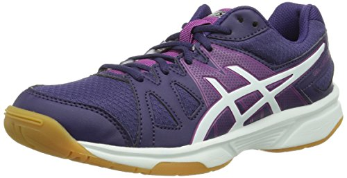 Asics GEL-UPCOURT, Damen Badmintonschuhe, Violett (PURPLE/WHITE/FUCHSIA 3301), 42 EU (9 Damen UK)
