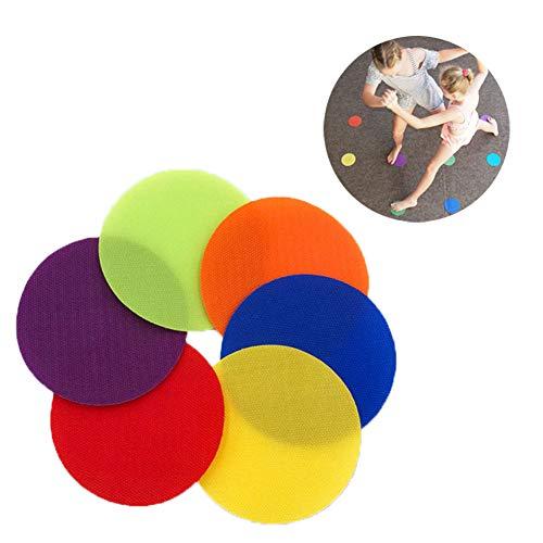 Greatmin Teppichmarker, sitzende Punkte, für Klassenzimmer, Vorschule und Kindergarten, Kinderspielzeug, 30 Stück -