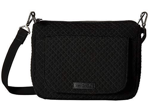 Vera Bradley Women's Carson Mini Shoulder Bag Classic Black One Size - Vera Leder Bradley Handtaschen Aus