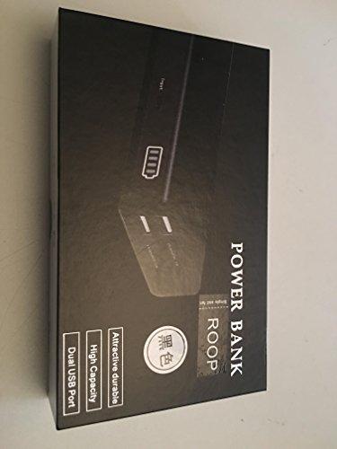potenza 2 porte usb con banco 20.000mAh titolare per la ricarica, compatibile con apple iphone e ipad samsung galassia s6 edge gopro smartphone e tablet android e roop (nero)