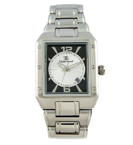 Charles Gerard Arosa M by Oskar Emil Two Tone Gents Watch with Stainless Steel Strap and date.