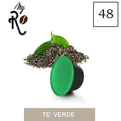 48 Capsules au thé vert Dolce Gusto compatibles à toute machine à café Dolce Gusto, kit 48 capsules au thé vert - MyRistretto