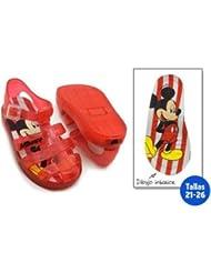 idealcasa Kids–Chaussures été enfant Mickey–Taille–24