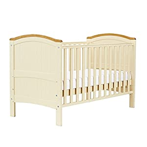 Henley Cotbed Cream m-kids Multifunctional changing table for many years of use - easy to turn into a junior desk when your child is not using diapers anymore Adjustable changing plate for optimal conception with your baby - without the need for too High edges for optimal safety 4