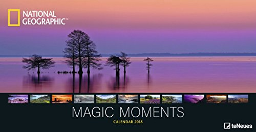 Magic Moments 2018 - National Geographic Panoramakalender, Naturkalender 2018, Landschaftskalender 2018, Wandkalender 2018  -  64 x 33 cm