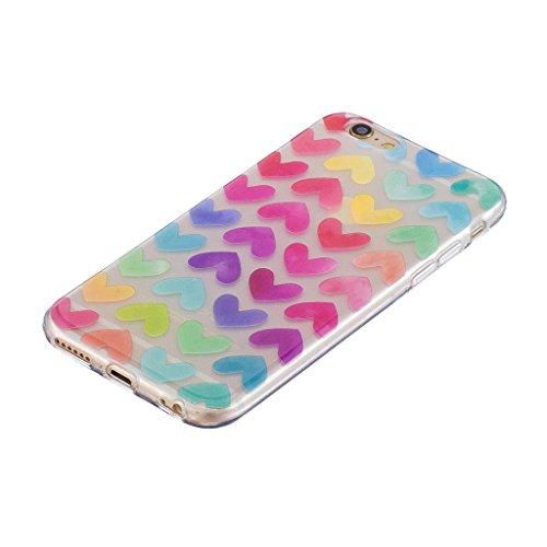 Cover iPhone 6 Plus / iPhone 6S Plus , YIGA unicorno palloncino Cristallo Trasparente Silicone Morbido Case Molle TPU Shell Caso Protezione Custodia per Apple iPhone 6 Plus / iPhone 6S Plus (5.5) WL3
