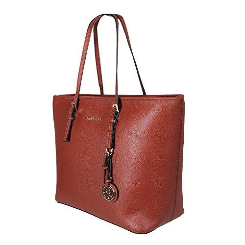 Tom & Eva Damen Handtasche 6228F TE-Jet Set Travel Bag Tasche Braun Camel