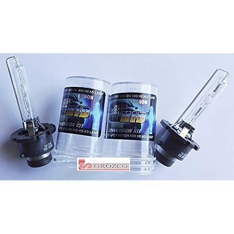 Lámpara descarga xénon HID D2S 12/24v 35w 6000 K (2 unidades)