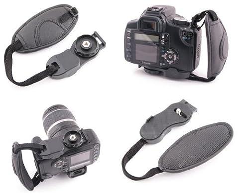 Case4Life reflex numérique Appareil Photo Bridge Sangle de poignet wrist pour Panasonic Lumix DMC-G, DMC-GF, DMC-GH, DMC-FZ, DMC-LC série inc FZ62, FZ72, FZ200 – Garantie de 2