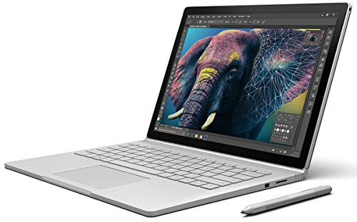 Microsoft Surface Book 34,29 cm (13,5 Zoll) (Intel Core i5 6. Generation, 8GB RAM, 128GB SSD, Intel HD, Win10 Pro)