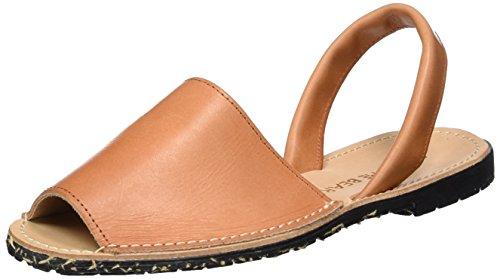 Shoe Closet Vega, Sandali con Zeppa Donna Marrone (220 Tan)