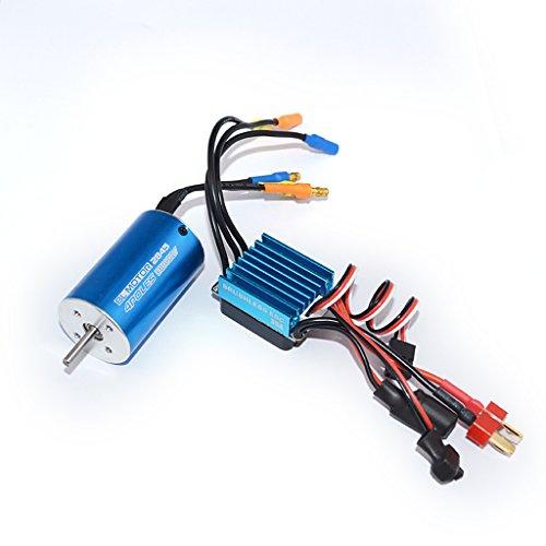 Preisvergleich Produktbild MagiDeal 2845 Sensorloser Bürstenloser Motor mit 35 A Brushless Regler für 1/14 1/16 1/18 RC Auto