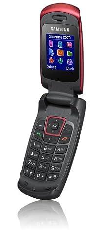 Samsung SGH-C270 Handy red (Samsung C270)