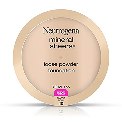 Neutrogena Mineral Sheers Loose Powder #10 Classic Ivory