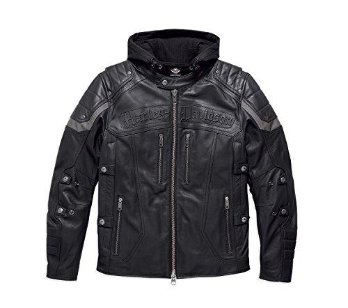 Harley-Davidson Lederjacke Payton 3-in-1 Size XXL Herren Harley Davidson Leder Weste