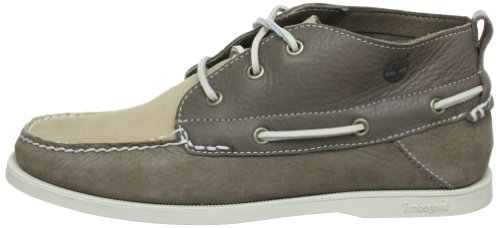 Timberland Earthkeepers Heritage Boat  Men s Lace-Up Shoes  Grey  7 5 UK