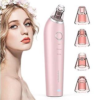 Cuidado de la piel, instrumento de la belleza de l Venda bien XPREEN XPRE027 Removedor de espinillas Limpiador de poros IPL microcristalino eléctrico recargable (rosa) (Color : Rosado)