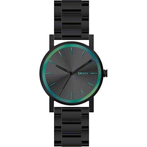 dkny-reloj-de-cuarzo-para-mujer-correa-de-acero-inoxidable-color-negro