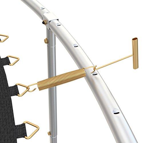 Ampel 24 Trampolin Federspanner | ideale Hilfe zum Einhängen der Sprungfedern in Ihr Gartentrampolin - 2