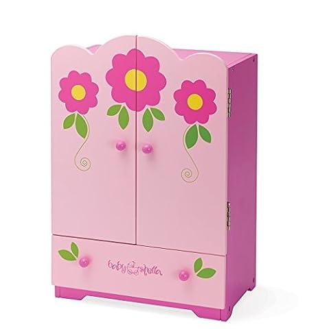 Manhattan Toy Baby Stella Tickled Armoire (Pink)