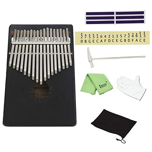 Tellabouu for 17 Tasten, Finger-Daumen-Klavier, Taschenklavier, Kalimba, Mbira, Daumen-Klavier, Bildungsspielzeug, Musikinstrument, großes Geschenk