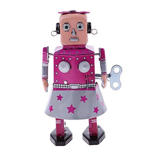 KESOTO Mecanismo Mecánico De Robot Juguetes De Cuerda...