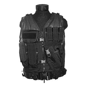 Army USMC Tactical Assault Vest Black