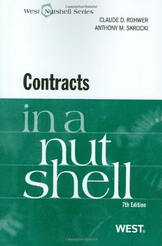 Contracts in a Nutshell (Nutshell Series)