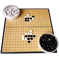 WANGYONGQI Gobang, Gomoku, Juego de Tablero de ajedrez Adulto del Estudiante, Rompecabezas de los niños, Tablero de ajedrez magnético Portable, va, va el Juego