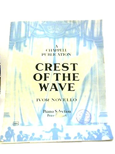 Crest Of The Wave Selection - Piano Conductor - Chappell And Co Orchestral Works No 329