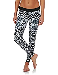 2017 Rip Curl Ladies G Bomb 1mm SUP Neoprene Trousers BLACK / WHITE WPA6BW