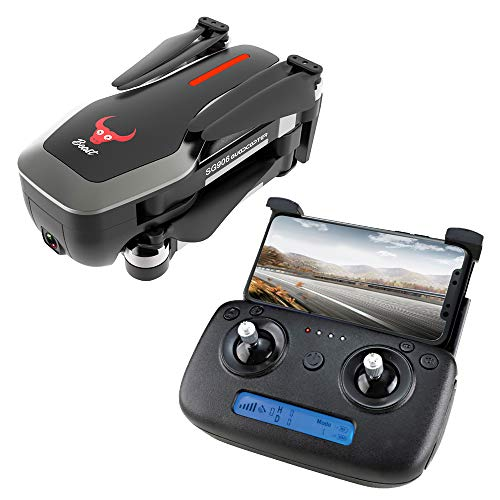 Yiwa ZLRC Beast SG906 GPS 5G WiFi FPV mit Ultra klarer 4K-Kamera Brushless Selfie Faltbarer RC-Drohne-Quadcopter schwarz