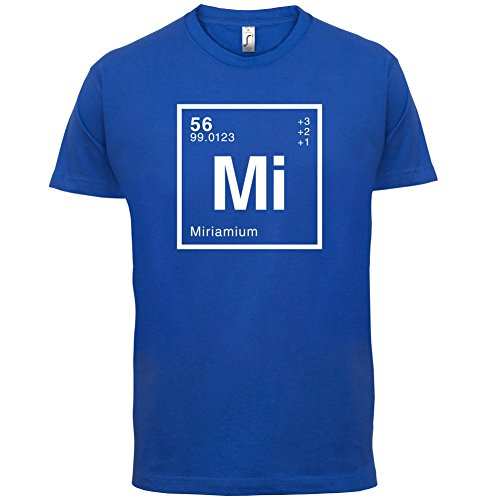 Miriam Periodensystem - Herren T-Shirt - 13 Farben Royalblau