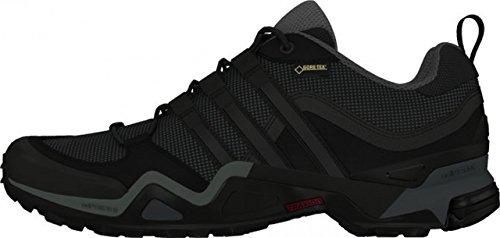 adidas Herren Fast X Gtx Wanderschuhe Black (Negbas / Griosc / Rojpot)