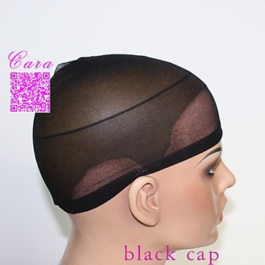 OOFAY JF® 20pcs neri unisex protezioni elastiche parrucca per fare