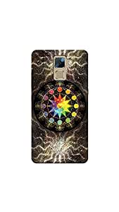 Sowing Happiness HON7-1565 Printed Back Cover for Huawei Honor 7