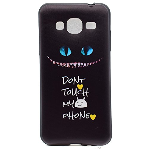 J3 Hülle ,Samsung J3 Shell Case , Galaxy J3 Black Hülle, Cozy Hut® [Liquid Crystal] [Matte Black] [With Lanyard/Strap] Samsung Galaxy J3 Ultra Slim Schutzhülle ,Anti-Scratch Shockproof und Schutz vor  Haustierkatze